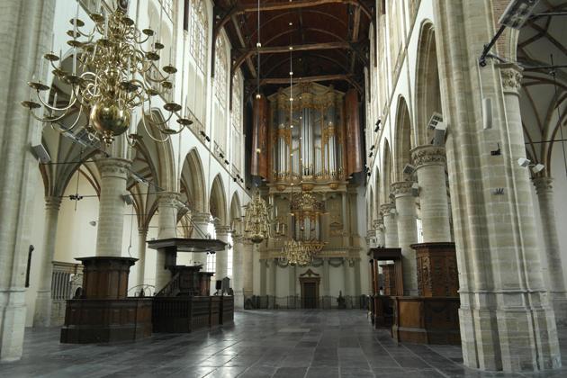 De lege kerk is een compositie op zich