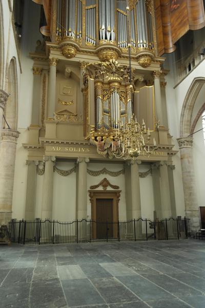 Het basement van het orgel