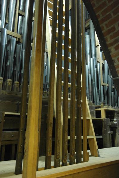 De ladder naar het Bovenwerk