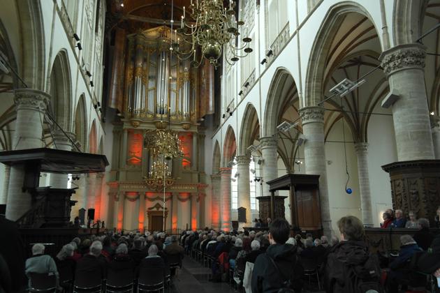Een volle kerk!