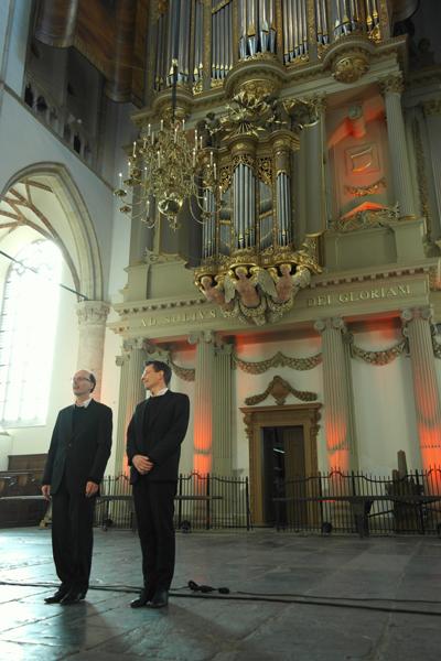 Pieter van Dijk en Frank van Wijk