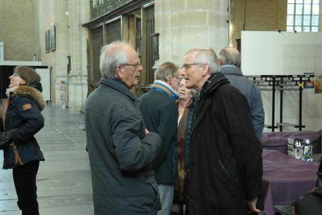 Joop Seldenthuis in gesprek met Frits Elshout (directeur Flentrop Orgelbouw)