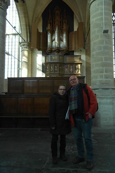 Henk Terwal en zijn vrouw kwamen speciaal voor deze gelegenheid uit Oss