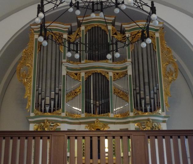 orgelreis van scherer tot sauer - amalienorgel