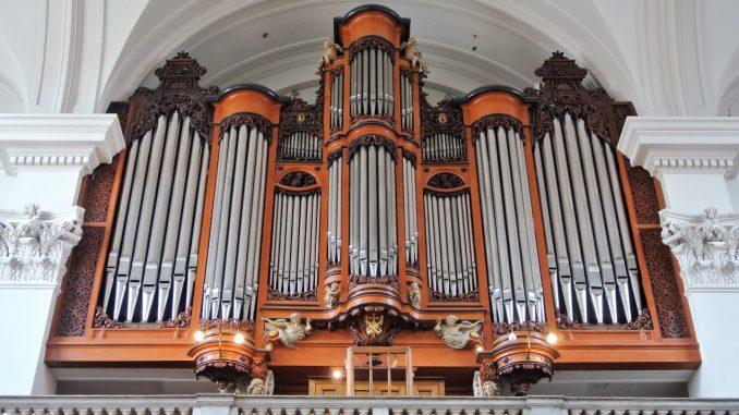 orgel mozes en aaronkerk amsterdam