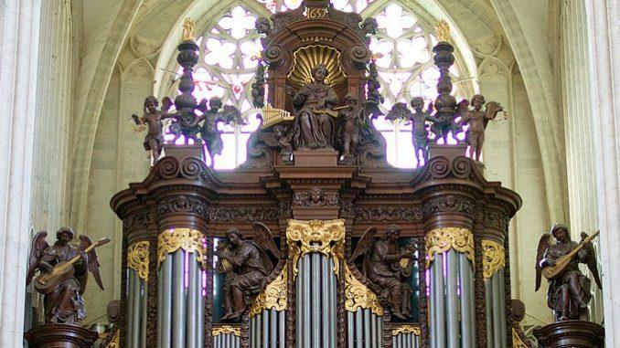 schyven orgel kathedraal antwerpen