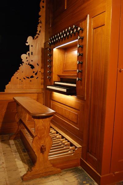 Klaviatuur orgel Jozefkerk Assen