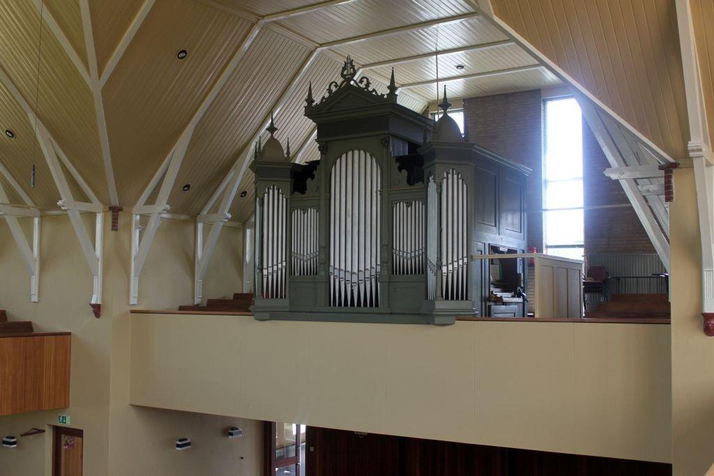 orgel pypketsjerke augustinusga