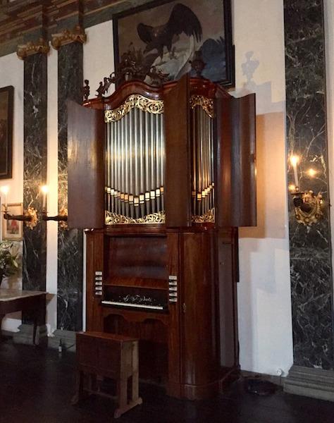 Bätz-orgel Kasteel Amerongen
