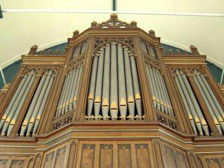 van dam orgel protestantse kerk benningbroek
