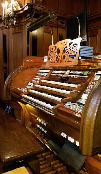 orgelreis van scherer tot sauer - dom berlijn speeltafel
