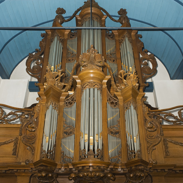 Van Dam-orgel Langweer