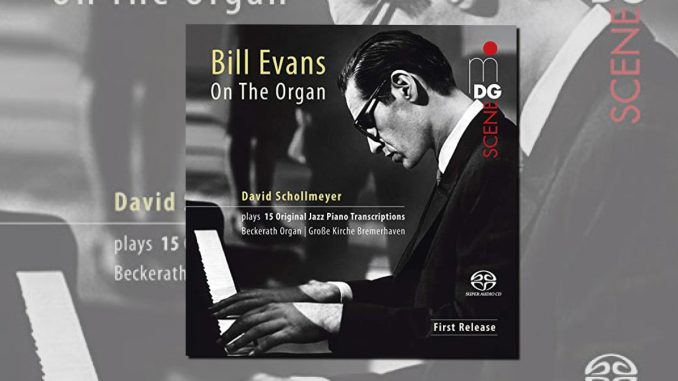 cd bill evans on the organ