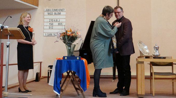 nico blom organist koninklijke onderscheiding
