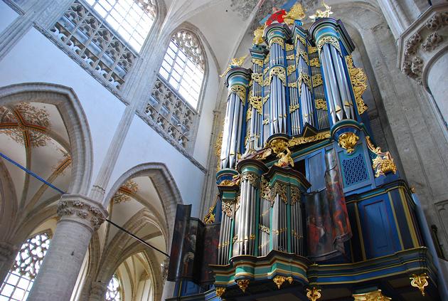 orgel grote kerk breda