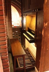 Klaviatuur Maarschalkerweerd-orgel Bedevaartskerk Brielle
