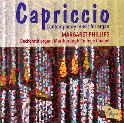 Capriccio - Contemporary music for organ REGCD419