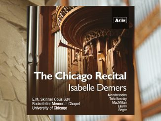 cd the chicago recital isabelle demers