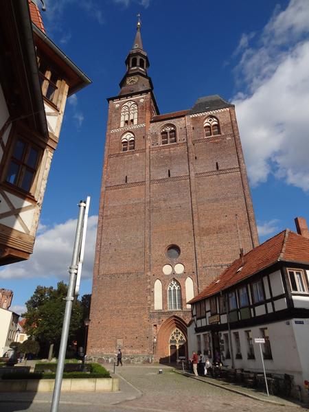 De St. Stephanskirche in Tangermünde