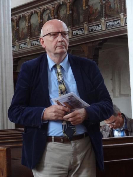 Orgeldeskundige Bernhardt Edskes die samen met Sietze de Vries zorgdraagt voor de muzikaal-inhoudelijke kant van de reis.