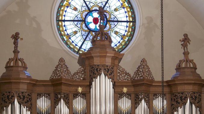 orgel lutherse kerk gronigen