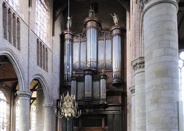 bätz orgel nieuwe kerk delft