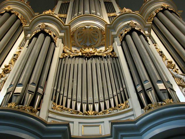 orgel oude kerk ede