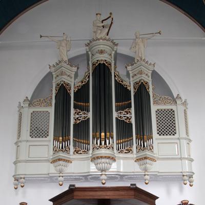 flaes orgel amstelkerk ouderkerk aan de amstel