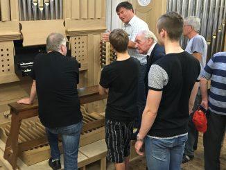 orgel sydney sussec college combridge tijdens open dag flentrop zaandam