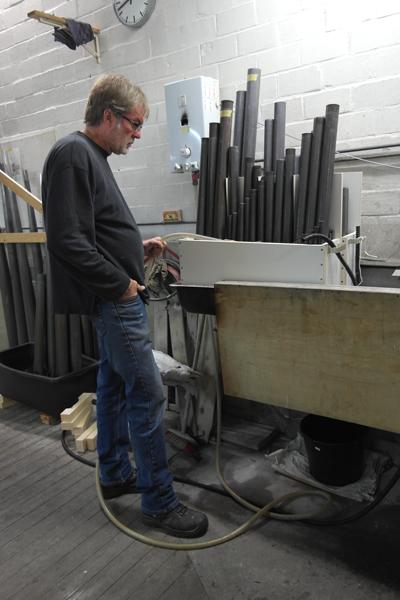 restauratie van haverbeer Schnitger orgel alkmaar
