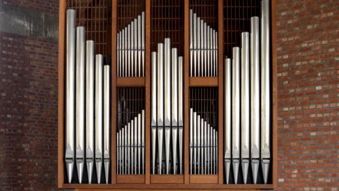orgel Genk OLV van Fatimakerk