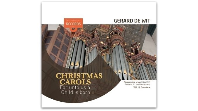 cd gerard de wit christmas carols