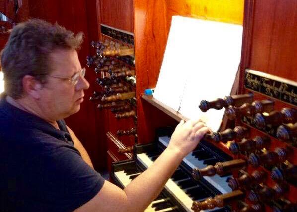 Gerrit Jordaan organist