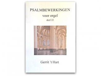 gerrit t hart psalmbewerkingen voor orgel deel 22