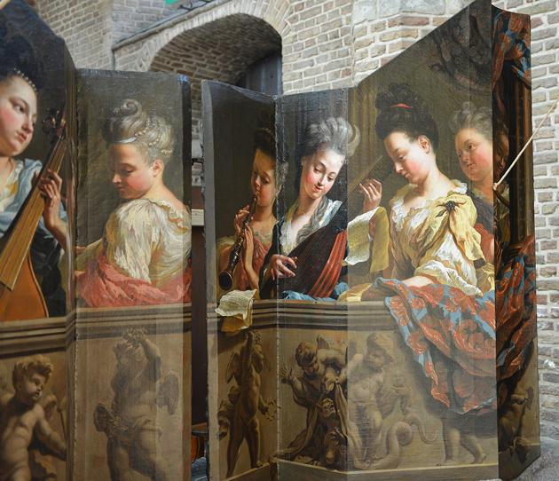 detail luiken orgel grote kerk goes