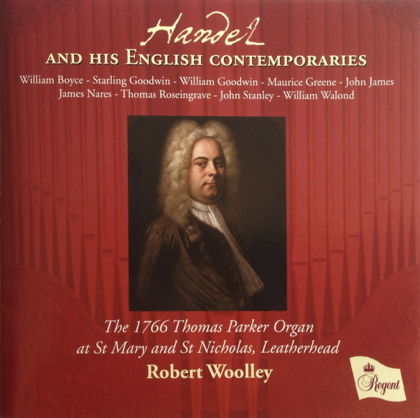 Handel and his English contemporaries REGCD382