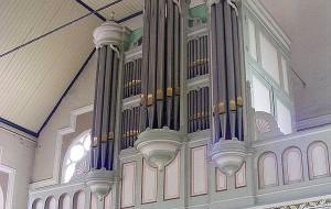 Van der Kley-orgel verloren bij kerkbrand Hoek