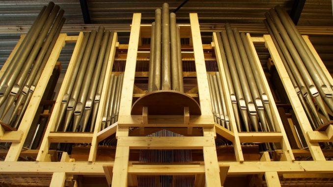 orgel augustinuskerk utrecht bij van rossum orgelbouw