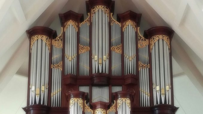 orgel hersteld hervormde kerk ouderkerk aan den ijssel