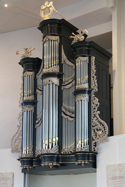 van oeckelen orgel gereformeerde gemeente tholen