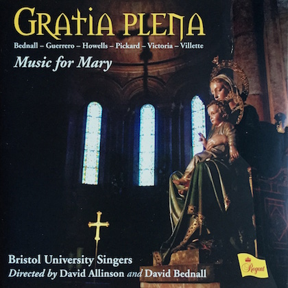 gratia plena music for mary REGCD430