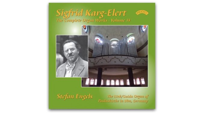 cd Karg-Elert Complete Organ Works Engels PRCD 1135