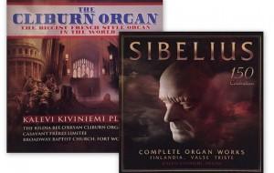 Twee cd's Kalevi Kiviniemi: The Cliburn Organ en Sibelius 150