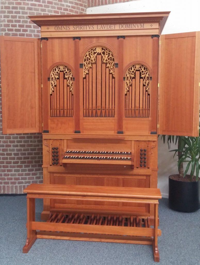 klop-orgel gereformeerde kerk dalfsen