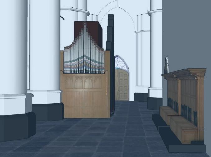Koororgel Grote Kerk Wijk bij Duurstede