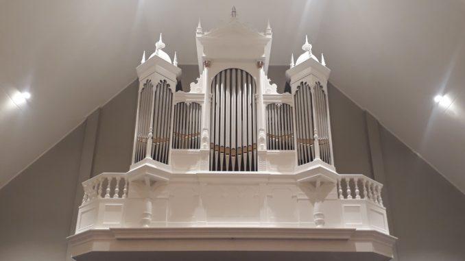 orgel adullamkerk kruiningen