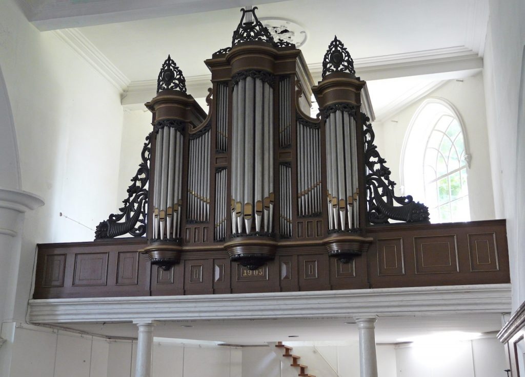 Kruse-orgel Grote Kerk Groede voor 2009