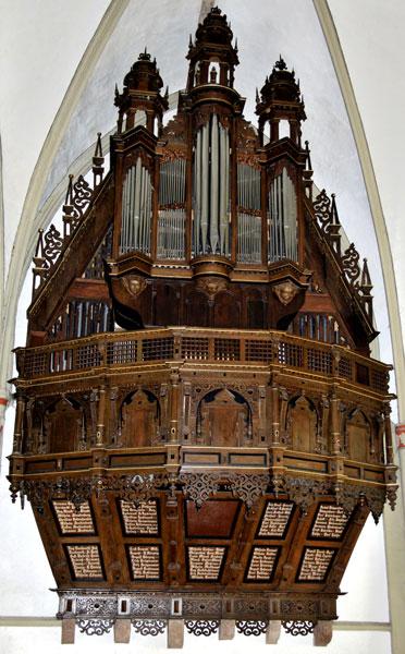orgel marienkirche lemgo