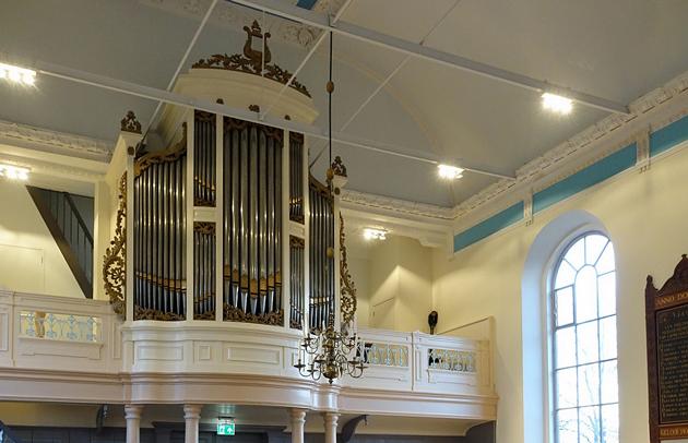 van dam orgel piterkerk lippenhuizen