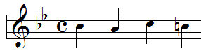 Liszt BACH Notenvoorbeeld 2